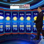 WSVN 7News Weather Set 2013