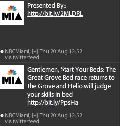 ads in NBCMiami twitter feed