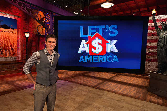 Kevin Pereira Let's Ask America game show
