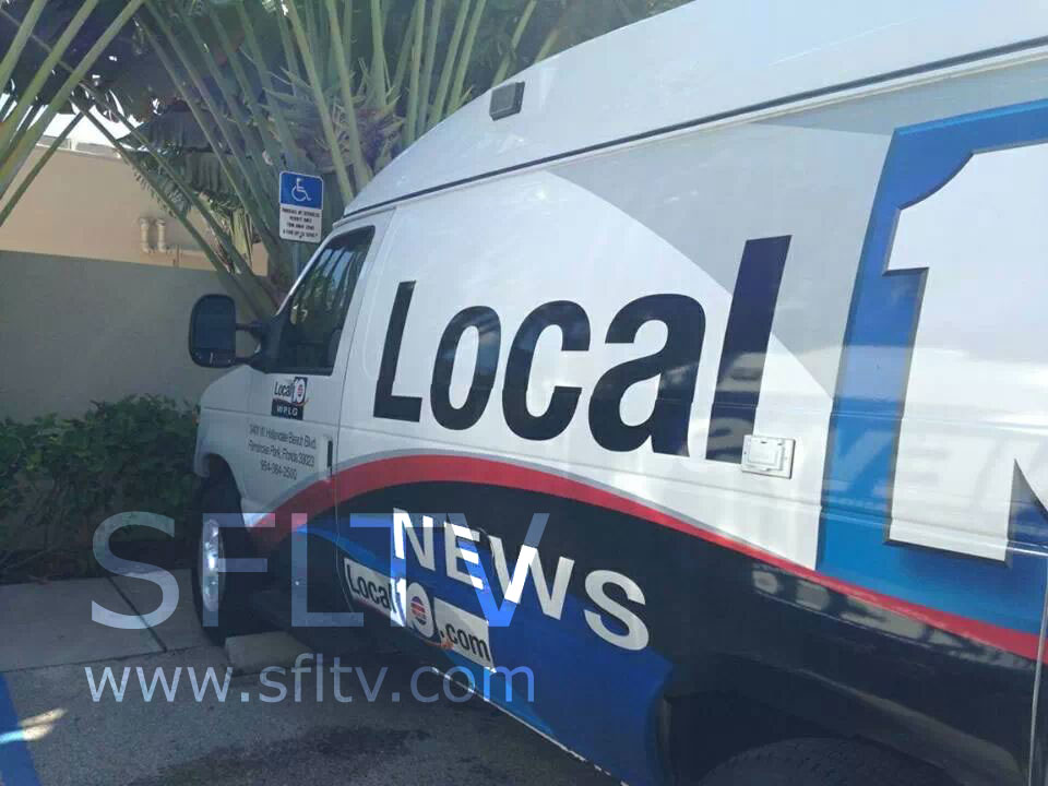WPLG Local 10 News truck